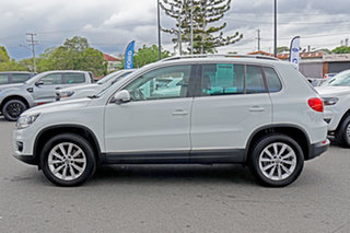 2015 Volkswagen Tiguan 5N MY16 130TDI DSG 4MOTION White 7 Speed Sports Automatic Dual Clutch Wagon