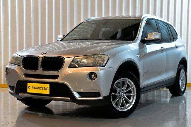 Used BMW X3 F25 MY1011 xDrive20d Steptronic, 2011 BMW X3 F25 MY1011 xDrive20d Steptronic Silver 8 Speed Automatic Wagon