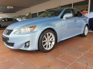2011 Lexus IS250 GSE20R MY11 Prestige Blue 6 Speed Auto Sequential Sedan.