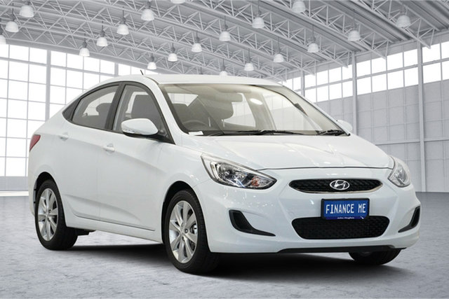 Used Hyundai Accent RB6 MY19 Sport, 2019 Hyundai Accent RB6 MY19 Sport Chalk White 6 Speed Sports Automatic Sedan