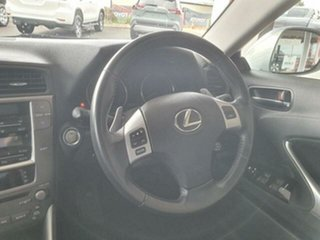2011 Lexus IS250 GSE20R MY11 Prestige Blue 6 Speed Auto Sequential Sedan