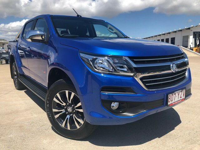 Used Holden Colorado RG MY19 LTZ Pickup Crew Cab, 2019 Holden Colorado RG MY19 LTZ Pickup Crew Cab Power Blue 6 Speed Sports Automatic Utility