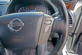 2012 Nissan Patrol Y62 TI White 7 Speed Sports Automatic Wagon