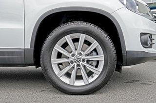 2015 Volkswagen Tiguan 5N MY16 130TDI DSG 4MOTION White 7 Speed Sports Automatic Dual Clutch Wagon