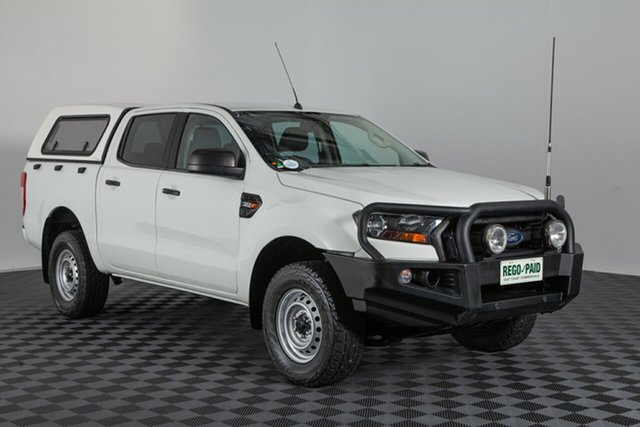 Used Ford Ranger PX MkII XL Double Cab, 2016 Ford Ranger PX MkII XL Double Cab White 6 speed Manual Utility