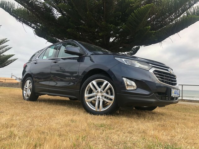 Used Holden Equinox EQ MY18 LTZ FWD, 2019 Holden Equinox EQ MY18 LTZ FWD Blue Steel 9 Speed Sports Automatic Wagon