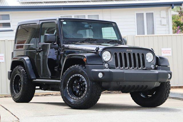 Used Jeep Wrangler JK MY18 Golden Eagle, 2018 Jeep Wrangler JK MY18 Golden Eagle Black 6 Speed Manual Softtop