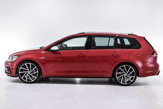 2019 Volkswagen Golf 7.5 MY19.5 R DSG 4MOTION Red 7 Speed Sports Automatic Dual Clutch Wagon