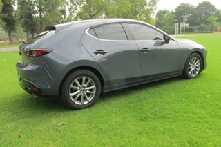 Mazda 3 G20 PURE Grey 6 Speed Automatic Hatchback.