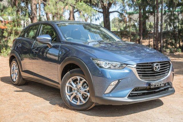 Used Mazda CX-3 DK2W7A Maxx SKYACTIV-Drive, 2017 Mazda CX-3 DK2W7A Maxx SKYACTIV-Drive Blue 6 Speed Sports Automatic Wagon