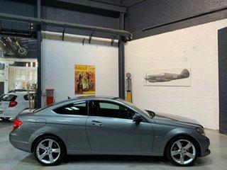2012 Mercedes-Benz C-Class C204 MY13 C180 BlueEFFICIENCY 7G-Tronic + Grey 7 Speed Sports Automatic.