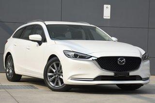 2019 Mazda 6 GL1033 Touring SKYACTIV-Drive Snowflake White 6 Speed Sports Automatic Wagon.