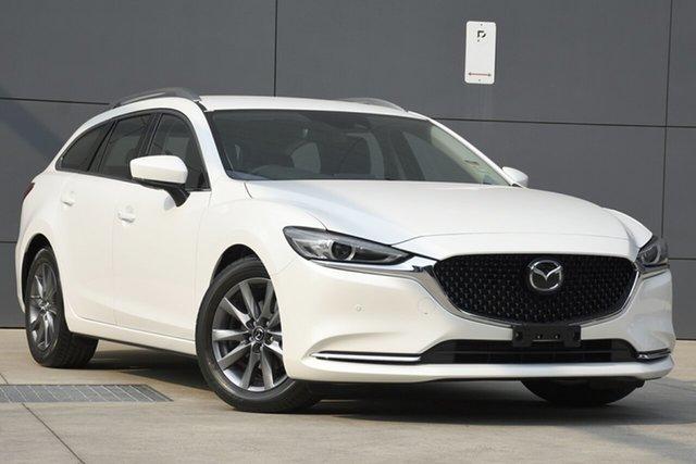 New Mazda 6 GL1033 Touring SKYACTIV-Drive, 2019 Mazda 6 GL1033 Touring SKYACTIV-Drive Snowflake White 6 Speed Sports Automatic Wagon