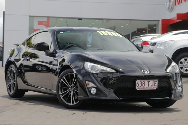Used Toyota 86 ZN6 GTS, 2013 Toyota 86 ZN6 GTS Black/Grey 6 Speed Sports Automatic Coupe