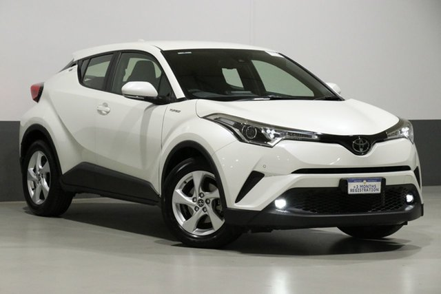 Used Toyota C-HR NGX10R Update (2WD), 2018 Toyota C-HR NGX10R Update (2WD) Crystal Pearl Continuous Variable Wagon