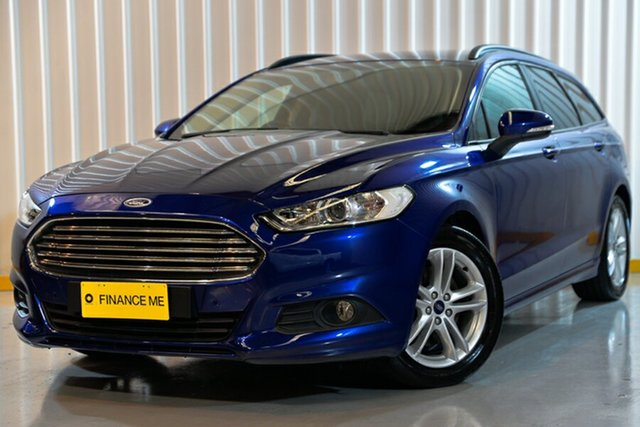 Used Ford Mondeo MD Ambiente PwrShift, 2015 Ford Mondeo MD Ambiente PwrShift Blue 6 Speed Sports Automatic Dual Clutch Wagon
