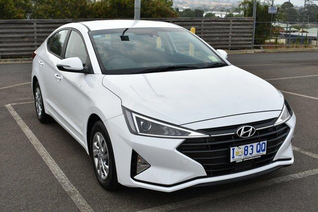 Demo Hyundai Elantra AD.2 MY19 Go, 2018 Hyundai Elantra AD.2 MY19 Go Polar White 6 Speed Sports Automatic Sedan