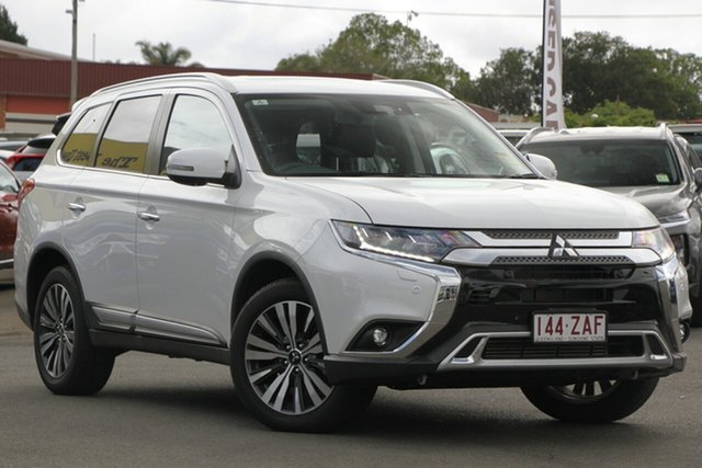 Used Mitsubishi Outlander ZL MY19 Exceed AWD, 2019 Mitsubishi Outlander ZL MY19 Exceed AWD Starlight Black 6 Speed Sports Automatic Wagon