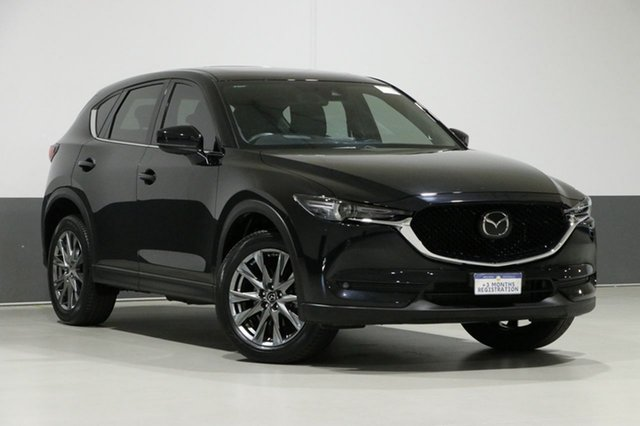 Used Mazda CX-5 MY19 (KF Series 2) Akera (4x4), 2019 Mazda CX-5 MY19 (KF Series 2) Akera (4x4) Black 6 Speed Automatic Wagon