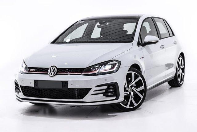 Used Volkswagen Golf 7.5 MY19.5 GTI DSG, 2019 Volkswagen Golf 7.5 MY19.5 GTI DSG White 7 Speed Sports Automatic Dual Clutch Hatchback