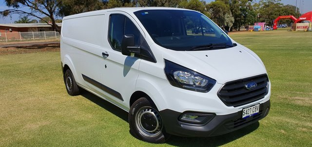 Demo Ford Transit Custom VN 2019.75MY 340L Low Roof LWB, 2019 Ford Transit Custom VN 2019.75MY 340L Low Roof LWB Frozen White 6 Speed Automatic Van