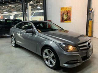 2012 Mercedes-Benz C-Class C204 MY13 C180 BlueEFFICIENCY 7G-Tronic + Grey 7 Speed Sports Automatic