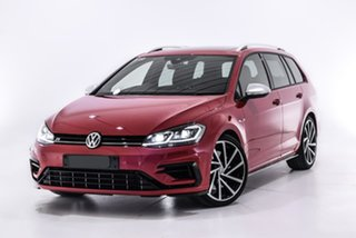 2019 Volkswagen Golf 7.5 MY19.5 R DSG 4MOTION Red 7 Speed Sports Automatic Dual Clutch Wagon.