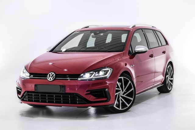 Used Volkswagen Golf 7.5 MY19.5 R DSG 4MOTION, 2019 Volkswagen Golf 7.5 MY19.5 R DSG 4MOTION Red 7 Speed Sports Automatic Dual Clutch Wagon