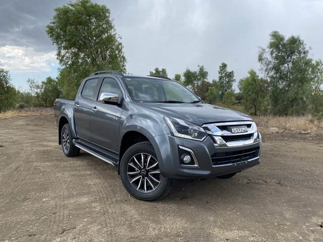 New Isuzu D-MAX MY19 LS-T Crew Cab, 2019 Isuzu D-MAX MY19 LS-T Crew Cab Graphite Grey 6 Speed Sports Automatic Utility