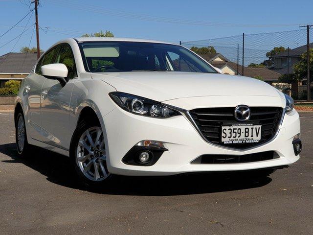 Used Mazda 3 BM5478 Maxx SKYACTIV-Drive, 2015 Mazda 3 BM5478 Maxx SKYACTIV-Drive White 6 Speed Sports Automatic Hatchback