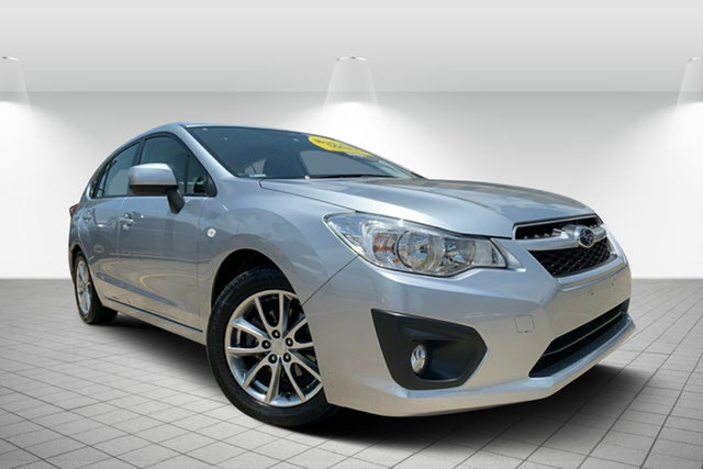 Used Subaru Impreza G4 MY14 2.0i Lineartronic AWD, 2014 Subaru Impreza G4 MY14 2.0i Lineartronic AWD Silver 6 Speed Constant Variable Hatchback