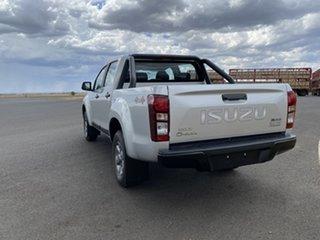 2019 Isuzu D-MAX MY19 X-Rider Crew Cab Titanium Silver 6 Speed Sports Automatic Utility.