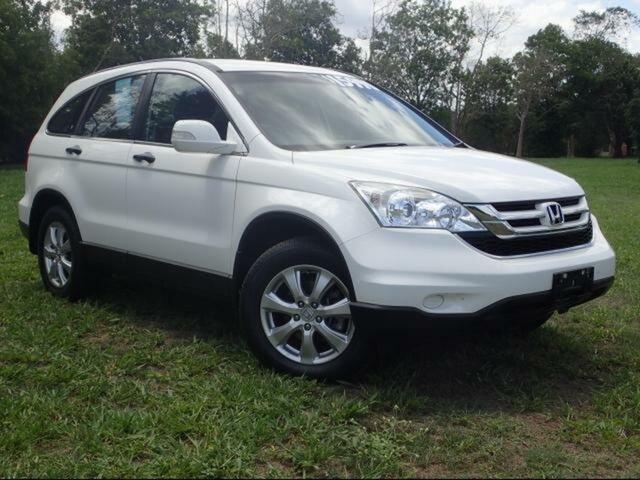 Used Honda CR-V MY11 (4x4) Luxury, 2012 Honda CR-V MY11 (4x4) Luxury White 5 Speed Automatic Wagon