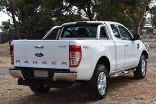 2012 Ford Ranger PX XLT Super Cab White 6 Speed Manual Utility.