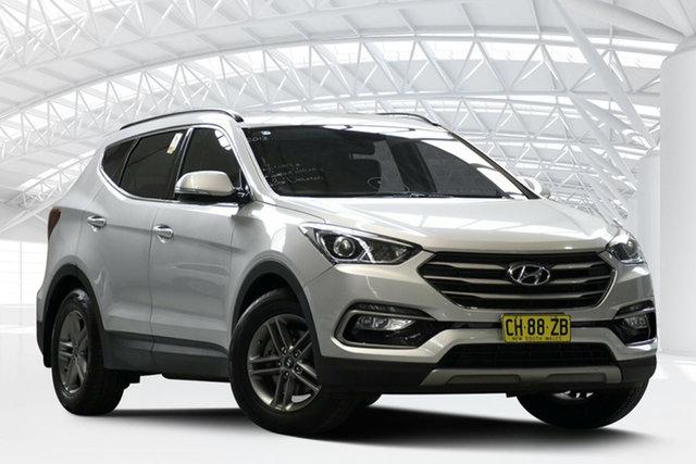 Used Hyundai Santa Fe DM MY15 Active (4x4), 2015 Hyundai Santa Fe DM MY15 Active (4x4) Sleek Silver 6 Speed Automatic Wagon