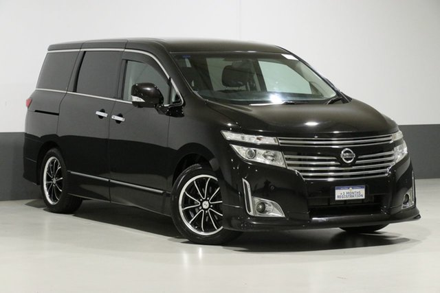 Used Nissan Elgrand E52 Highway Star, 2010 Nissan Elgrand E52 Highway Star Black 5 Speed Automatic Wagon