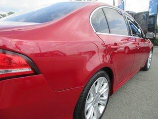 2011 Ford Falcon FG G6E Red 6 Speed Sports Automatic Sedan