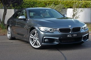 2014 BMW 435i F36 Gran Coupe M Sport Mineral Grey 8 Speed Automatic Coupe.