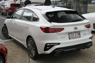 2019 Kia Cerato BD MY20 GT DCT Clear White 7 Speed Sports Automatic Dual Clutch Hatchback