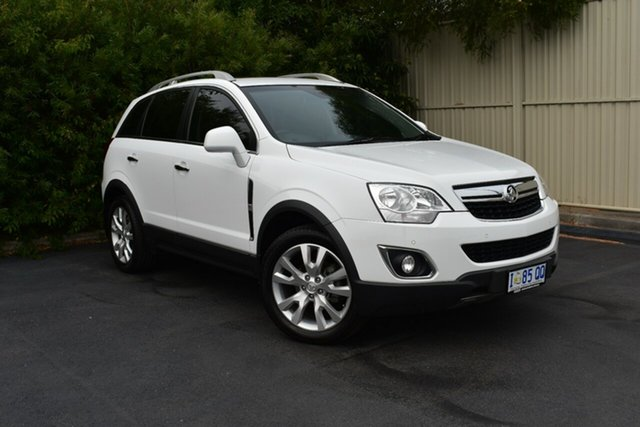 Used Holden Captiva CG MY15 5 AWD LTZ, 2015 Holden Captiva CG MY15 5 AWD LTZ White 6 Speed Sports Automatic Wagon