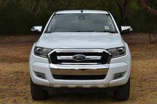2018 Ford Ranger PX MkII 2018.00MY XLT Double Cab White 6 Speed Manual Utility