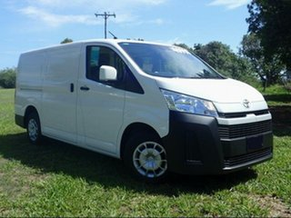 2019 Toyota HiAce GDH300R LWB French Vanilla 6 Speed Manual Van.