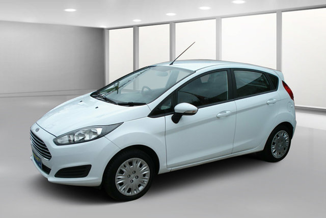 Used Ford Fiesta WZ MY15 Ambiente PwrShift, 2014 Ford Fiesta WZ MY15 Ambiente PwrShift White 6 Speed Sports Automatic Dual Clutch Hatchback