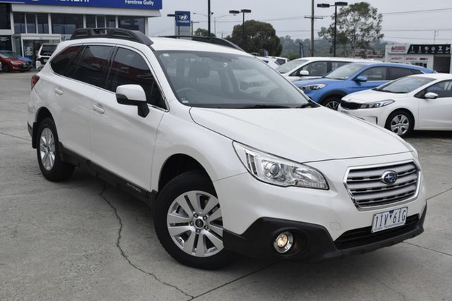 Used Subaru Outback B6A MY16 2.0D CVT AWD, 2016 Subaru Outback B6A MY16 2.0D CVT AWD White 7 Speed Constant Variable Wagon