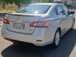 2012 Nissan Pulsar B17 ST-L Brilliant Silver 1 Speed Constant Variable Sedan
