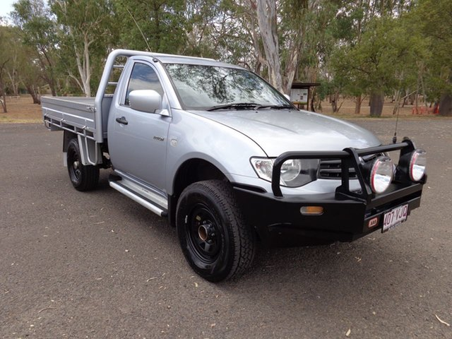 Used Mitsubishi Triton MN MY14 Update GL, 2013 Mitsubishi Triton MN MY14 Update GL 5 Speed Manual Cab Chassis