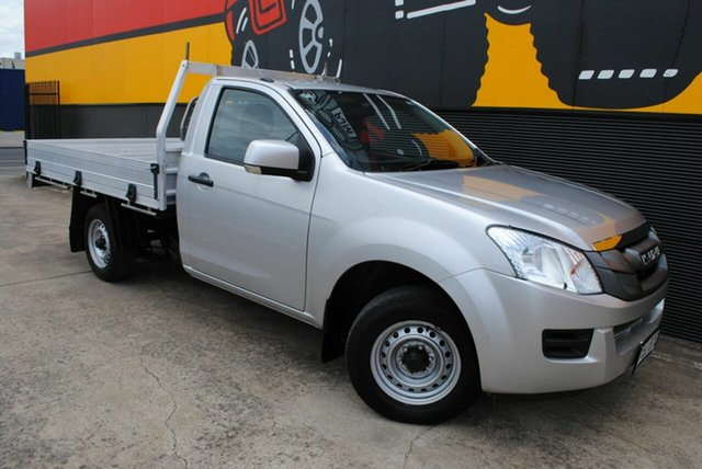 Used Isuzu D-MAX MY14 SX 4x2, 2014 Isuzu D-MAX MY14 SX 4x2 Titanium Silver 5 Speed Manual Cab Chassis