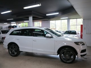 2013 Audi Q7 MY13 TDI Tiptronic Quattro White 8 Speed Sports Automatic Wagon