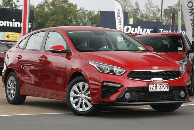 Used Kia Cerato BD MY20 S, 2019 Kia Cerato BD MY20 S Runway Red 6 Speed Sports Automatic Hatchback