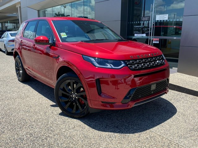 New Land Rover Discovery Sport L550 20MY D150 R-Dynamic S, 2019 Land Rover Discovery Sport L550 20MY D150 R-Dynamic S Firenze Red 9 Speed Sports Automatic